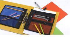 Bolsa con Cremallera Bolsillo Para Carpeta Anillas Escuela Uni organizar Lápices notas