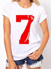 7 seven Fist up United We Stand Women's T-shirt Colin Kaepernick Inspired 49er