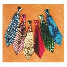 Mini-Krawatte mit Pailletten Paillettenkrawatte Party Kostüm Zubehör 125666113