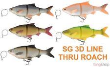 Savage Gear 3D Linethru Roach Gummifisch Kunstköder 18cm 25cm SS MS Barsch Hecht
