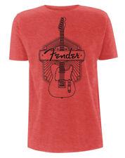 Fender 'Est 1946' (Red) T-Shirt - NEW & OFFICIAL!