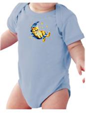 .Infant creeper bodysuit One Piece t-shirt Cat In The Moon Kitten Kitty k-523