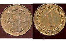 ALLEMAGNE 1 rentenpfennig  1924 A  ( bis )