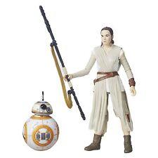 Hasbro Star Wars The Black Series 6-Inch Rey Jakku and BB-8 Action Figure