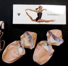 NEW BLOCH ES0251L Pink Elastosplit X Canvas Ladies Ballet Shoes Patented Design