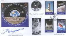 CC64 Apollo 11 30 Ann NASA Space Moon FDC signed GORBATKO 1969 Cosmonaut