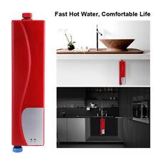 Mini Eléctrico agua Calentador instantáneo Lavado a Mano Caliente Baño Cocina