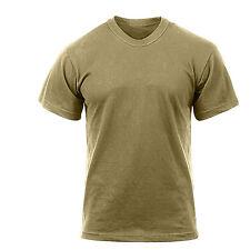 AR 670-1 Coyote Brown T-Shirt Military US Army Navy USMC Hunting Combat Uniform