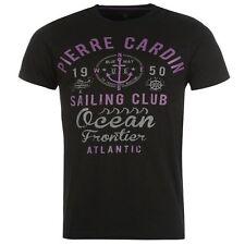 T-Shirt Homme PIERRE CARDIN (Du XS au XXL) Neuf