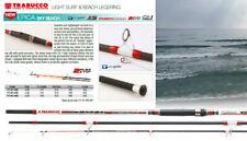 TRABUCCO EPICA Beach 100 G LIGHT SURF CASTING CANNA DA PESCA 2 punte 4.0 -4.5 M