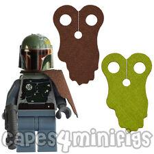 2 Custom Boba Fett cabos para Minifigura Lego Starwars/Minifig-Cape sólo