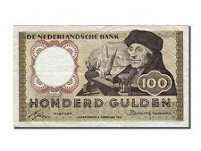 Billets Pays Bas (Banknotes Netherlands), Pays Bas, 100 Gulden, type Erasmus