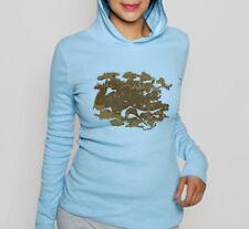 NEWTG American Apparel yoga Asian crane hoodie jacket