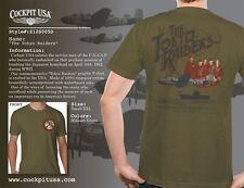 T-Shirt THE TOKYO RAIDERS COCKPIT USA ex AVIREX