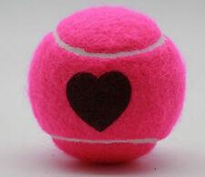 Price's Heart Motif Tennis Balls: 3 Quality High Performance Tennis Balls