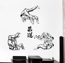 Wall Sticker Sport Judo Jiu-Jitsu Martial Arts Fighting Vinyl Decal (z3012)