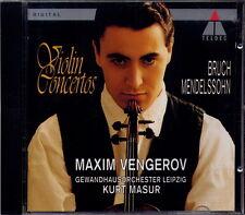 MAXIM VENGEROV - VIOLIN CONCERTOS (BRUCH / MENDELSSOHN)