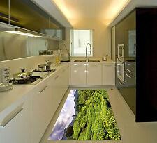 3D Paysage Vert Dasan 130 Décor Mural Murale De Mur De Cuisine AJ WALLPAPER FR