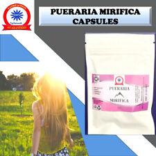 Pueraria Mirifica Capsules 500mg Kwao krua  100% Natural Anti Ageing Non-Gmo