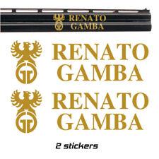 2x RENATO GAMBA Vinyl Decal Sticker. 3 sizes. 9 colours