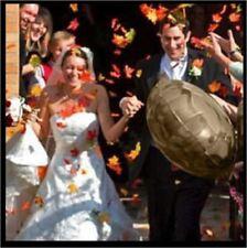 100x Fall Autumn Maple Leaf Leaves Artificial Silk Petal Wedding Decor Favor