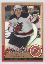 2008-09 O-Pee-Chee Rainbow Foil 420 David Clarkson New Jersey Devils Hockey Card