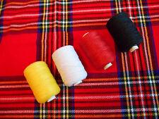 BAGPIPE MAINTANANCE THREAD HEMP - YELLOW, BLACK, RED,WHITE.