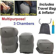 Comfortable Inflatable Pouf Footstool Leg Feet Rest Footrest Car Seat Gap Filler