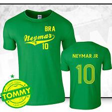 Brasil World Cup Camisa Neymar Ventilador Camiseta Copa Mundial Brasil 2014 Verde