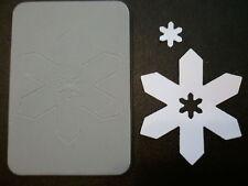 Sizzix Sizzlits SNOWFLAKE #18 Medium Die Cutter fits Cuttlebug, Wizard & Bigshot