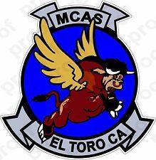 STICKER USMC MCAS EL TORO