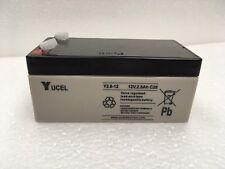 Y2.8-12 Yuasa Yucel 12v 2.8Ah SLA battery alarms, emergency lighting, toy cars