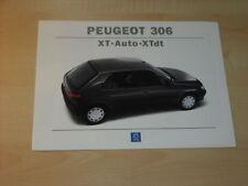 17197) Peugeot 306 XT Auto XTdt Prospekt 1994