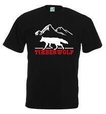 Timberwolf T-Shirt | Wolfs-Motiv | Wolf | Waldwolf | Steppenwolf        354-0-02