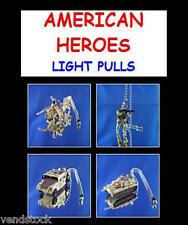 4 AMERICAN HEROES MINI DANGLER ORNAMENT CHARM BACKPACK ZIPPER PULLS YOU PICK ONE