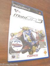 DVD ROM videogioco per playstation 2 ps2 motogp3 moto gp 3 gp3 namco 2003 sony