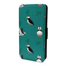 iPod Flip Case Cover 5th 6th Gen Puffin Bird Pattern - S6291