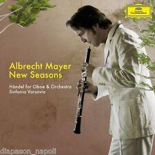 Albrecht Mayer - New Seasons, Handel per oboe ed orchestra - CD
