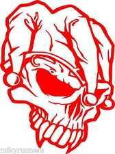 Teschio Skull Stikers-Adesivo Prespaziato decorazioni stampe auto moto casa
