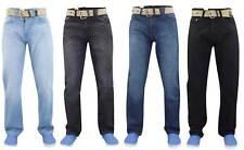 Mens Gaffer Straight Leg Denim Basic Regular Fit Jeans
