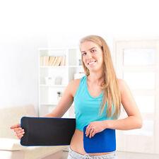 Fatburner Neopren Bauchweggürtel Sauna Belt Training Übungen Abnehmen Cellulite