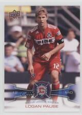 2012 Upper Deck MLS #58 Logan Pause Chicago Fire Soccer Card
