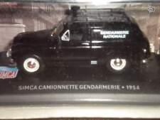 SIMCA CAMIONNETTE GENDARMERIE 1954 IXO 1/43