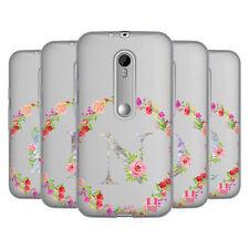 HEAD CASE DESIGNS DECORATIVE INITIALS 2 SOFT GEL CASE FOR MOTOROLA PHONES 2