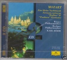 MOZART EINE KLEINE SERENATA NOTTURNA HAFFNER & POSTHORN SERENADES BOHM  2 CD