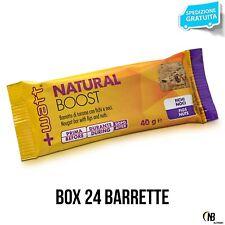 Watt Natural Boost 24 Barras con la energía fruta secca omega 3 vitaminas