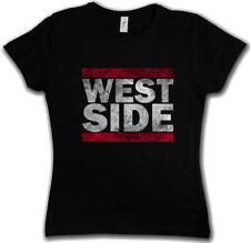 WEST SIDE DAMEN T-SHIRT Run Fun Shirt DMC East Coast USA United States Band