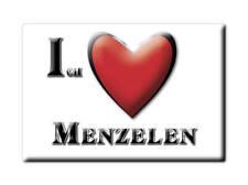 DEUTSCHLAND SOUVENIR - NORDRHEIN WESTFALEN MAGNET ICH LIEBE  MENZELEN (WESEL)