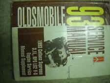 1993 Oldsmobile Cutlass Supreme Engine Service Manual Supplement OEM