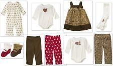 Gymboree GLAMOUR KITTY Dress Top Pants..U PICK 0-3 mos